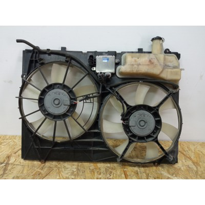 Диффузор радиатора с вентиляторами Toyota Harrier, 2GR-FE