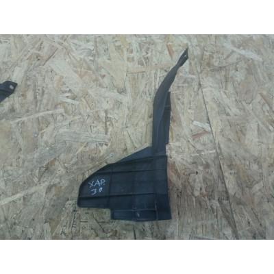 Дефлектор радиатора левый Toyota Harrier