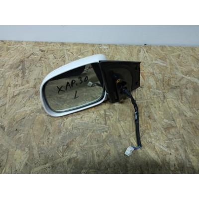 Зеркало левое с камерой Toyota Harrier, 30 кузов, цвет 062