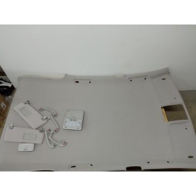 Обшивка потолка, светло-серая, Toyota Harrier, 2006, GSU30